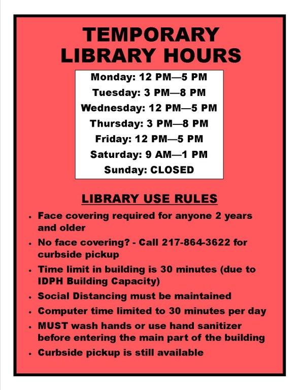 Library Temporary Hours and Library Use Rules June 2020.jpg