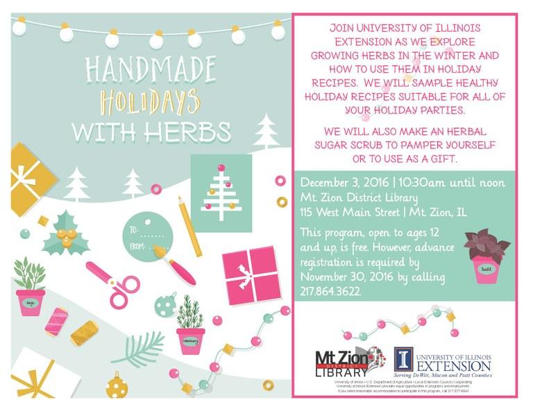 December 2016 Herbs for the Holidays - 2016 MTZ Flyer - Pic.jpg