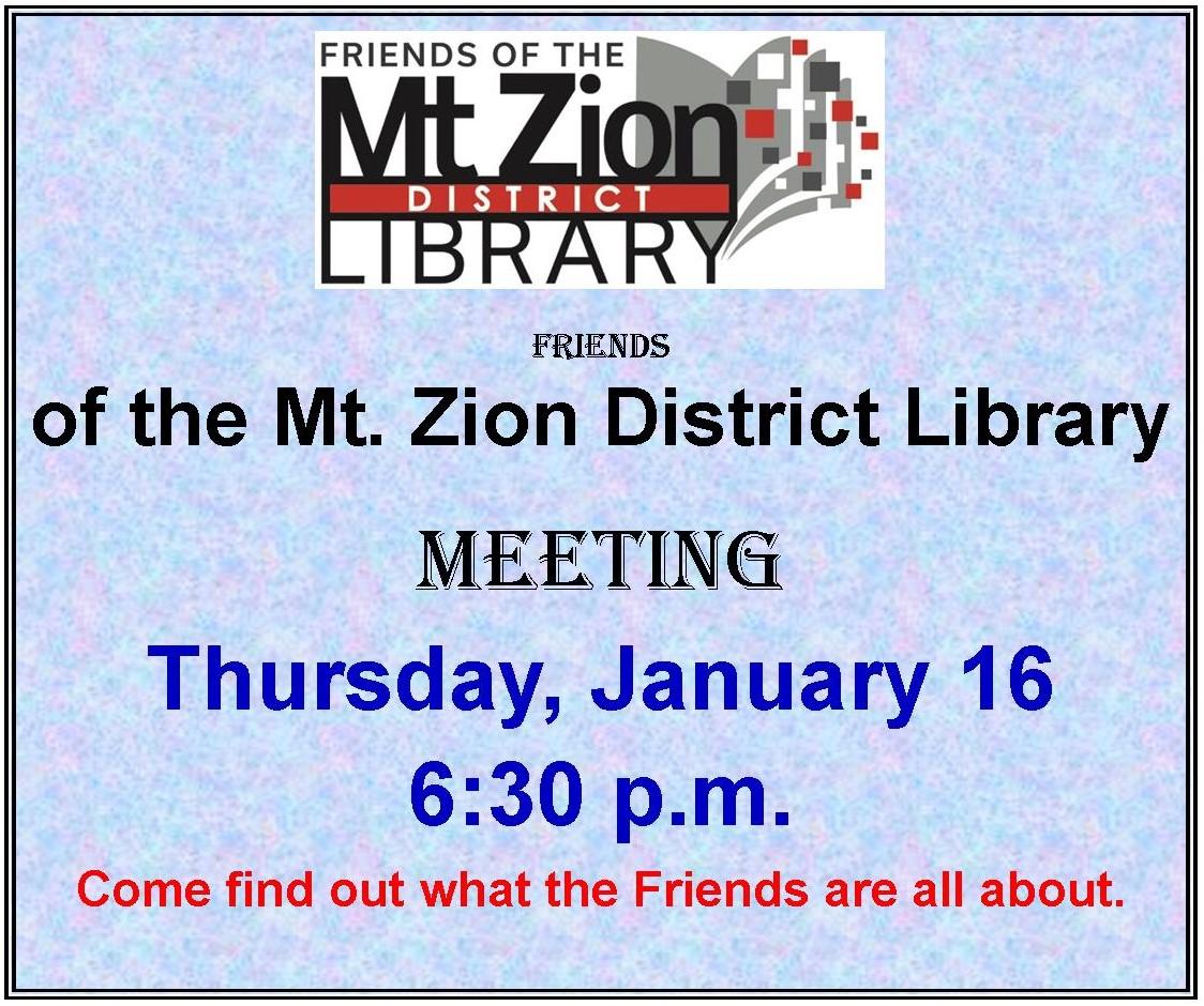 January 16, 2020 Friends Meeting(2).jpg