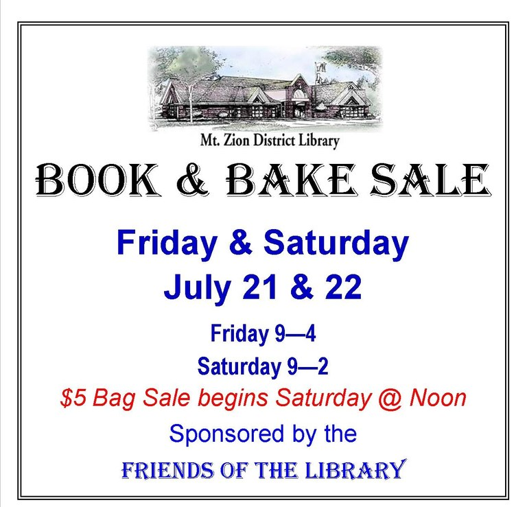 July 2017 Friends Book Sale Sign July 21 & 22 2017 landscape for Calendar .jpg
