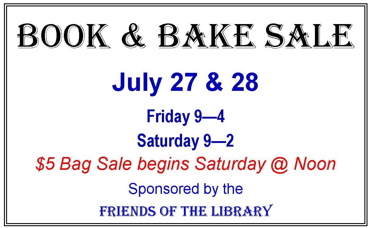 July 2018 Friends Book Sale Sign July 27 & 28 2018 landscape for Calendar-2 .jpg