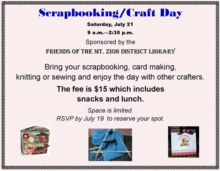July 2018 Scrapbooking - craft day July 21 2018 smaller for Board.jpg