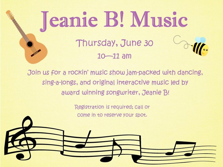 June 2016 Jeanie B! Music.jpg