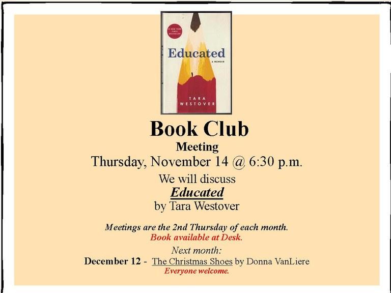 November 2019 Book Club Meeting November 2019  landscape smaller for calendar.jpg