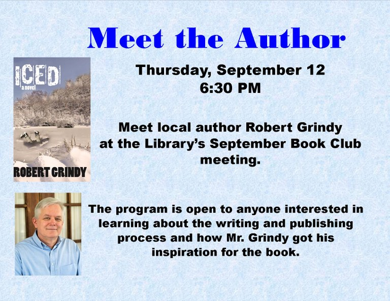 September 2019 Meet the Author - Robert Grindy September 2019 landscape.jpg